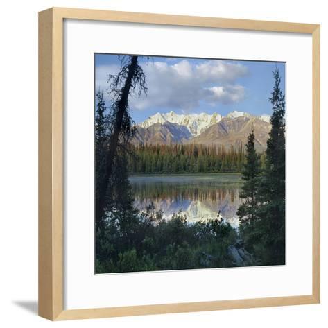 Kluane Range, Kluane National Park, Yukon, Canada-Tim Fitzharris-Framed Art Print