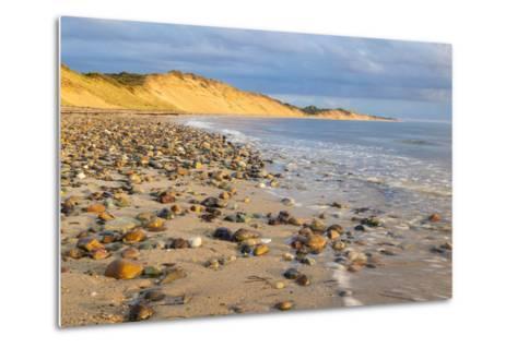 Low Tide on Duck Harbor Beach in Wellfleet, Massachusetts-Jerry and Marcy Monkman-Metal Print