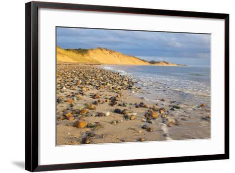 Low Tide on Duck Harbor Beach in Wellfleet, Massachusetts-Jerry and Marcy Monkman-Framed Art Print