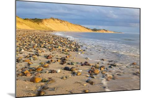 Low Tide on Duck Harbor Beach in Wellfleet, Massachusetts-Jerry and Marcy Monkman-Mounted Photographic Print
