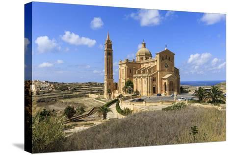 Church. Gozo Island. Malta-Tom Norring-Stretched Canvas Print