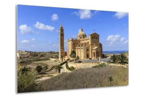Church. Gozo Island. Malta-Tom Norring-Metal Print