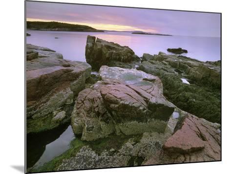 Atlantic Ocean Near Thunder Hole, Acadia National Park, Maine-Tim Fitzharris-Mounted Photographic Print