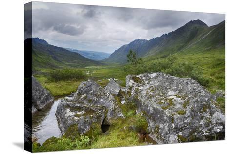 Alaska, Hatchers Pass-Savanah Stewart-Stretched Canvas Print