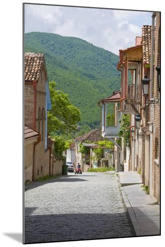 Old Town, Sighnaghi, Kakheti, Georgia-Michael Runkel-Mounted Photographic Print