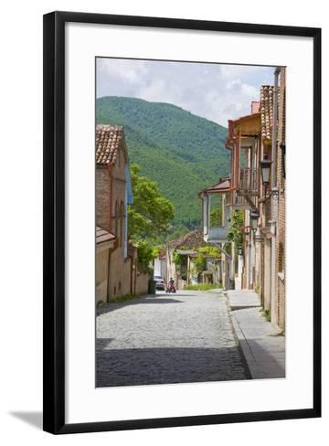 Old Town, Sighnaghi, Kakheti, Georgia-Michael Runkel-Framed Art Print