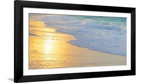 Bahamas, Little Exuma Island. Sunset on Beach-Jaynes Gallery-Framed Art Print