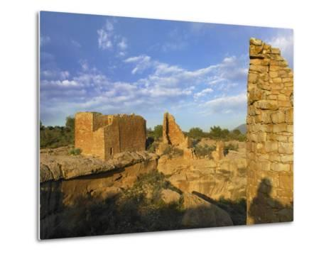 Hovenweep Castle, Hovenweep National Monument at Little Ruin Canyon, Utah-Tim Fitzharris-Metal Print
