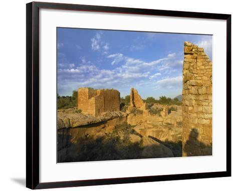 Hovenweep Castle, Hovenweep National Monument at Little Ruin Canyon, Utah-Tim Fitzharris-Framed Art Print