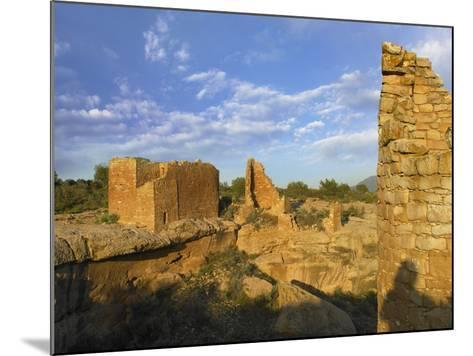 Hovenweep Castle, Hovenweep National Monument at Little Ruin Canyon, Utah-Tim Fitzharris-Mounted Photographic Print