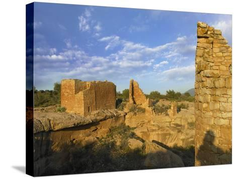 Hovenweep Castle, Hovenweep National Monument at Little Ruin Canyon, Utah-Tim Fitzharris-Stretched Canvas Print