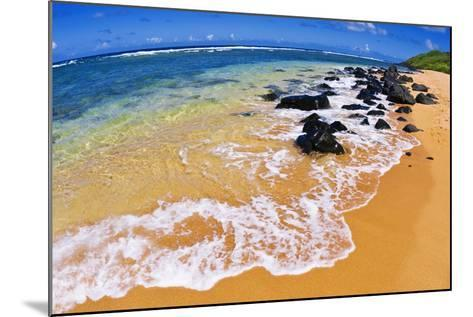Larsen's Beach, North Shore, Island of Kauai, Hawaii-Russ Bishop-Mounted Photographic Print
