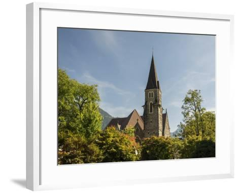 Switzerland, Bern Canton, Interlaken, Catholic Church-Jamie And Judy Wild-Framed Art Print