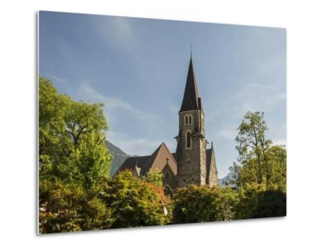 Switzerland, Bern Canton, Interlaken, Catholic Church-Jamie And Judy Wild-Metal Print