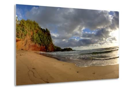 Hawaii, Maui, Sunrise Near Hana on the North Coast of Maui-Terry Eggers-Metal Print