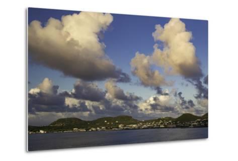 Sunset Over, St. Kitts, West Indies-Brian Jannsen-Metal Print