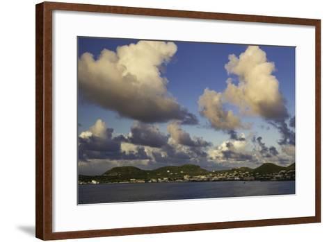 Sunset Over, St. Kitts, West Indies-Brian Jannsen-Framed Art Print
