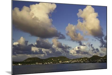 Sunset Over, St. Kitts, West Indies-Brian Jannsen-Mounted Photographic Print