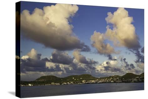 Sunset Over, St. Kitts, West Indies-Brian Jannsen-Stretched Canvas Print
