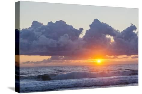 Dawn over the Atlantic Ocean at Coast Guard Beach , Eastham, Massachusetts-Jerry and Marcy Monkman-Stretched Canvas Print