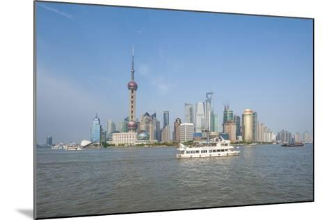 Pudong District Skyline and Huangpu River-Michael DeFreitas-Mounted Photographic Print