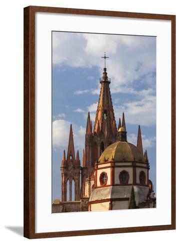 Mexico, San Miguel De Allende. Cathedral of San Miguel Archangel-Brenda Tharp-Framed Art Print