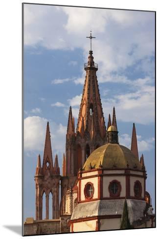 Mexico, San Miguel De Allende. Cathedral of San Miguel Archangel-Brenda Tharp-Mounted Photographic Print