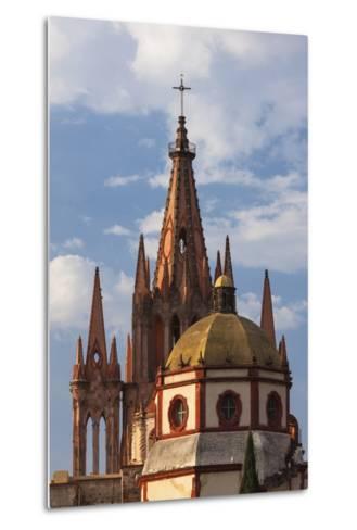 Mexico, San Miguel De Allende. Cathedral of San Miguel Archangel-Brenda Tharp-Metal Print