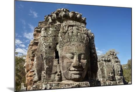 Faces Thought to Depict Bodhisattva Avalokiteshvara, Angkor World Heritage Site-David Wall-Mounted Photographic Print