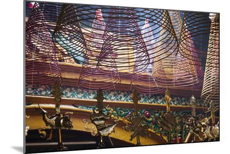 Vietnam, Ho Chi Minh City. Cholon, Chinatown Area, Phuoc an Hoi Quan Pagoda, Interior-Walter Bibikow-Mounted Photographic Print