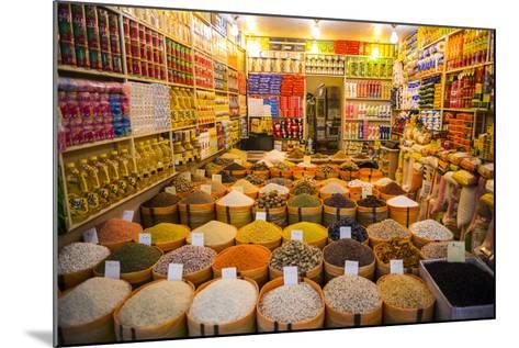Spices in the Bazaar of Sulaymaniyah, Iraq, Kurdistan-Michael Runkel-Mounted Photographic Print