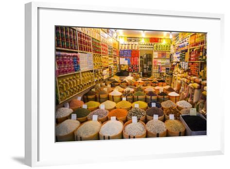 Spices in the Bazaar of Sulaymaniyah, Iraq, Kurdistan-Michael Runkel-Framed Art Print