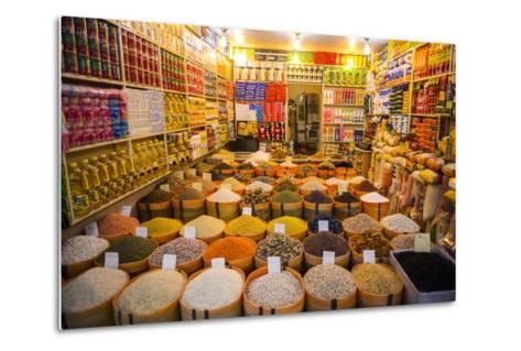 Spices in the Bazaar of Sulaymaniyah, Iraq, Kurdistan-Michael Runkel-Metal Print