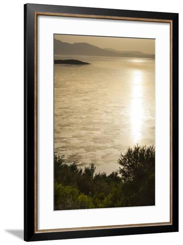 Lake Ichkeul, National Park of Ichkeul, Bizerte Province, Tunisia, North Africa-Nico Tondini-Framed Art Print