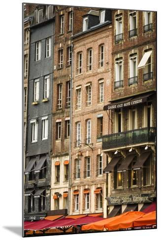 Shops and Galleries, Honfleur, Normandy, France-Russ Bishop-Mounted Photographic Print
