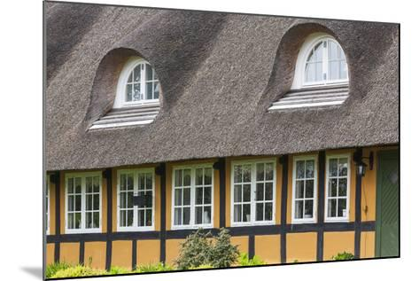 Denmark, Tasinge, Troense, Traditional Danish House-Walter Bibikow-Mounted Photographic Print