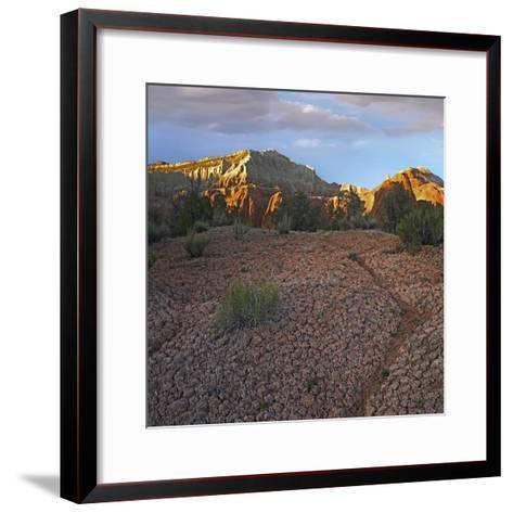 Sunset at Kodachrome Basin State Park, Utah-Tim Fitzharris-Framed Art Print