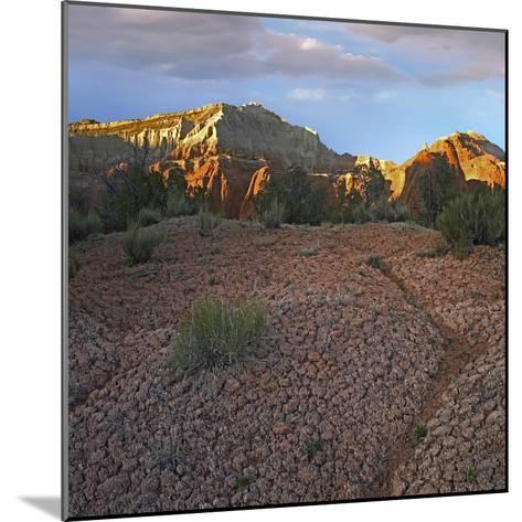 Sunset at Kodachrome Basin State Park, Utah-Tim Fitzharris-Mounted Photographic Print