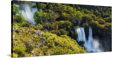 Manojlovac Waterfall, Krka National Park, Dalmatia, Croatia-Russ Bishop-Stretched Canvas Print
