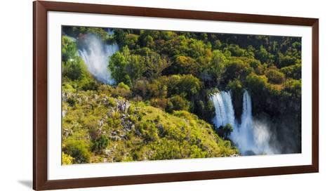 Manojlovac Waterfall, Krka National Park, Dalmatia, Croatia-Russ Bishop-Framed Art Print