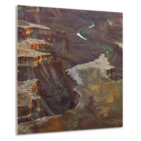 Aerial Viewed from the Green River Overlook, Canyonlands National Park, Utah-Tim Fitzharris-Metal Print