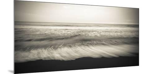 Waves, Waipio Valley Beach, Hamakua Coast, the Big Island, Hawaii-Russ Bishop-Mounted Premium Photographic Print