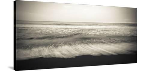Waves, Waipio Valley Beach, Hamakua Coast, the Big Island, Hawaii-Russ Bishop-Stretched Canvas Print