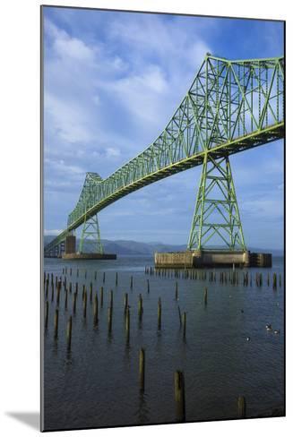 Oregon, Astoria, Astoria-Megler Bridge-Rick A^ Brown-Mounted Photographic Print