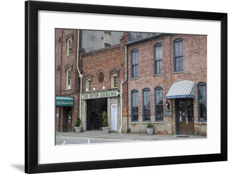 North Carolina, Wilmington, the Cotton Exchange-Lisa S^ Engelbrecht-Framed Art Print