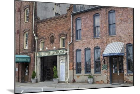 North Carolina, Wilmington, the Cotton Exchange-Lisa S^ Engelbrecht-Mounted Photographic Print