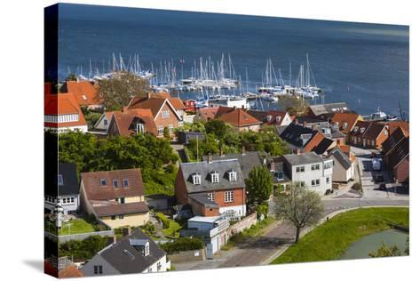 Denmark, Zealand, Vordingborg, Elevated Town View-Walter Bibikow-Stretched Canvas Print