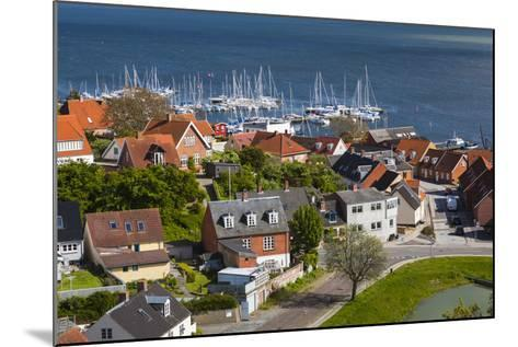 Denmark, Zealand, Vordingborg, Elevated Town View-Walter Bibikow-Mounted Photographic Print