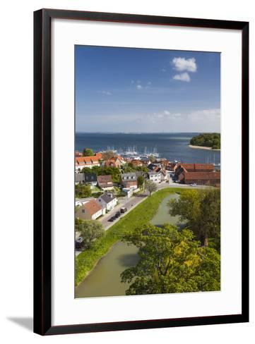 Denmark, Zealand, Vordingborg, Elevated Town View-Walter Bibikow-Framed Art Print