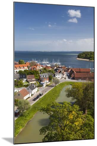 Denmark, Zealand, Vordingborg, Elevated Town View-Walter Bibikow-Mounted Photographic Print